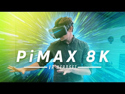 Pimax 8K VR Headset First Look