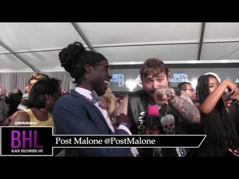 Post Malone shares about his upcoming project, meeting Allen Iverson, and his love for Bud Light