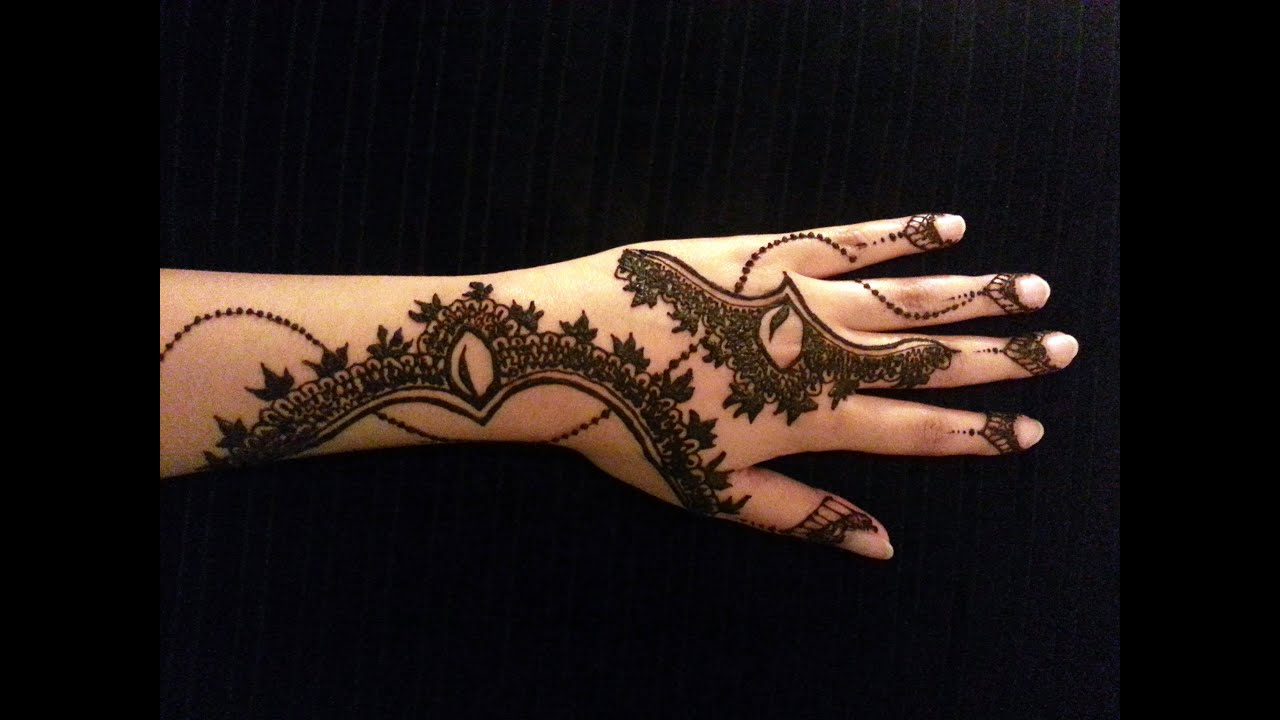 Latest mehndi designs 2016 2017 top 47 mehndi styles - Arabic Simple Henna Latest Mehndi Design How To Apply Henna Mehendi Tattoo On Hand Youtube