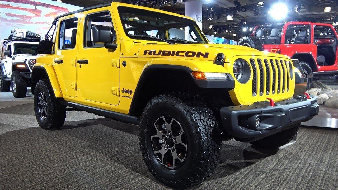 Jeep Wrangler обзор