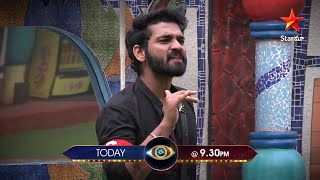 Nominations lo #Abijeet & #Akhil argue..Evari point right?? #BiggBossTelugu4 today at 9:30 PM