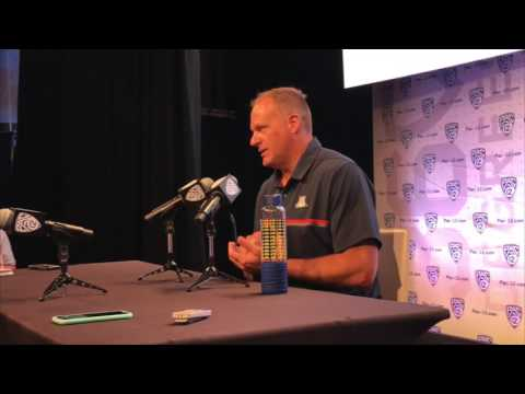 Rich Rodriguez on Arizona's quarterback situation