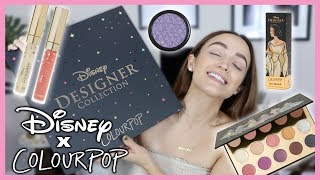 COLOURPOP DISNEY DESIGNER COLLECTION | LIP SWATCHES + REVIEW