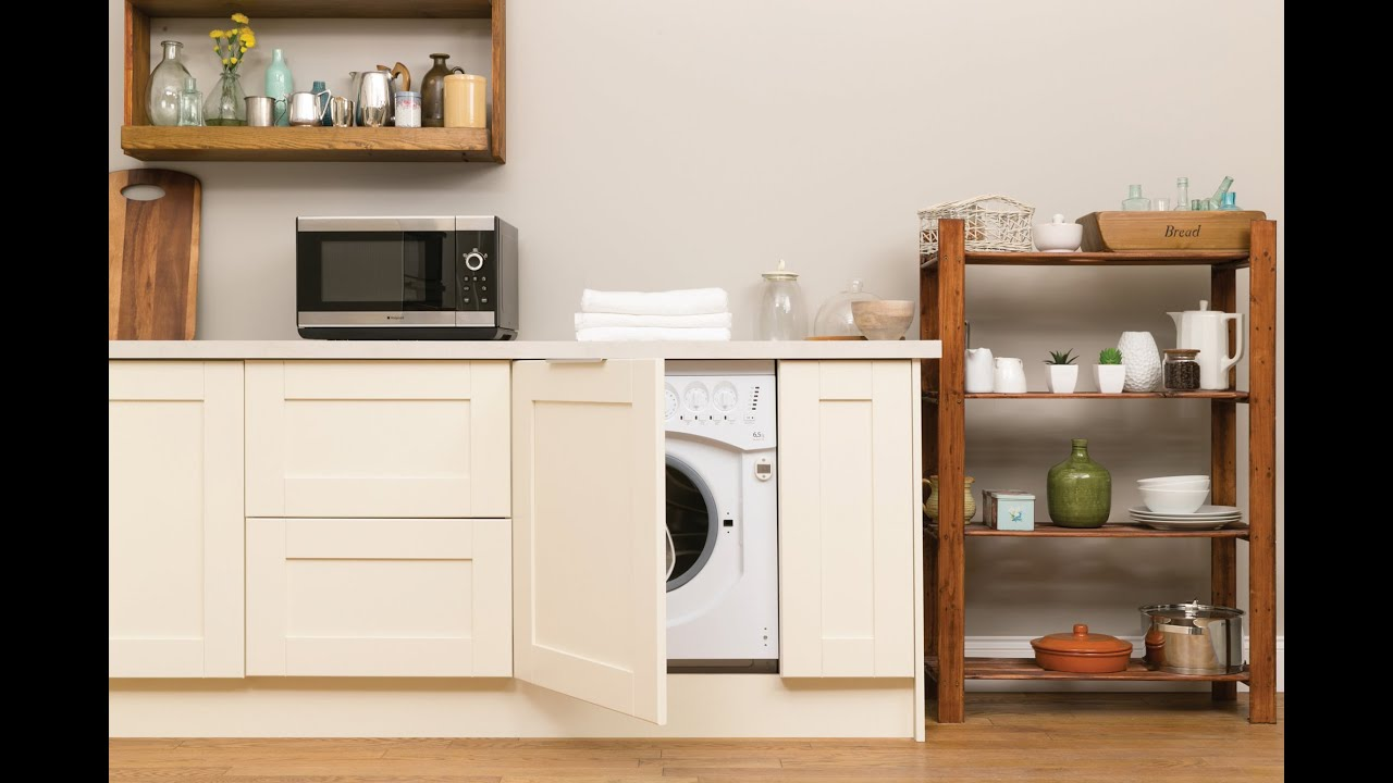 Hotpoint Washer Dryer Combo Hotpoint Integrated Bhwd129 1 Washer Dryer Youtube