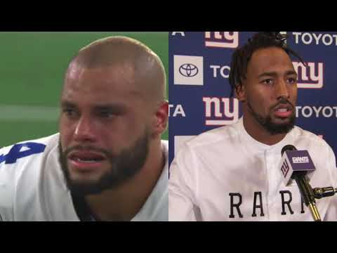 Giants' Logan Ryan, who tackled Dak Prescott on play he got injured ...