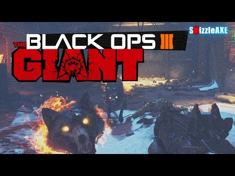 Black Ops 3 The Giant Zombies Gameplay - Fly Trap, FREE Perks, Firewoks Easter Eggs (Bo3 Zombies)