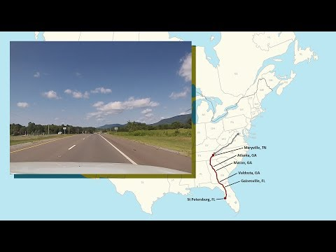St Petersburg, FL To Maryville, TN - A Complete Road Trip