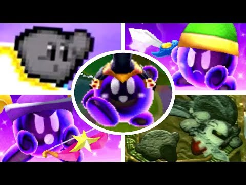 All Shadow Kirby Battles & Appearances in Kirby Games (2004 - 2018)