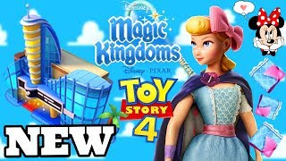 WIE MAN ANIMATION ACADEMY & BO PEEP KOSTÜM-STOFF! Disney Magic Kingdoms | Gameplay Ep.481