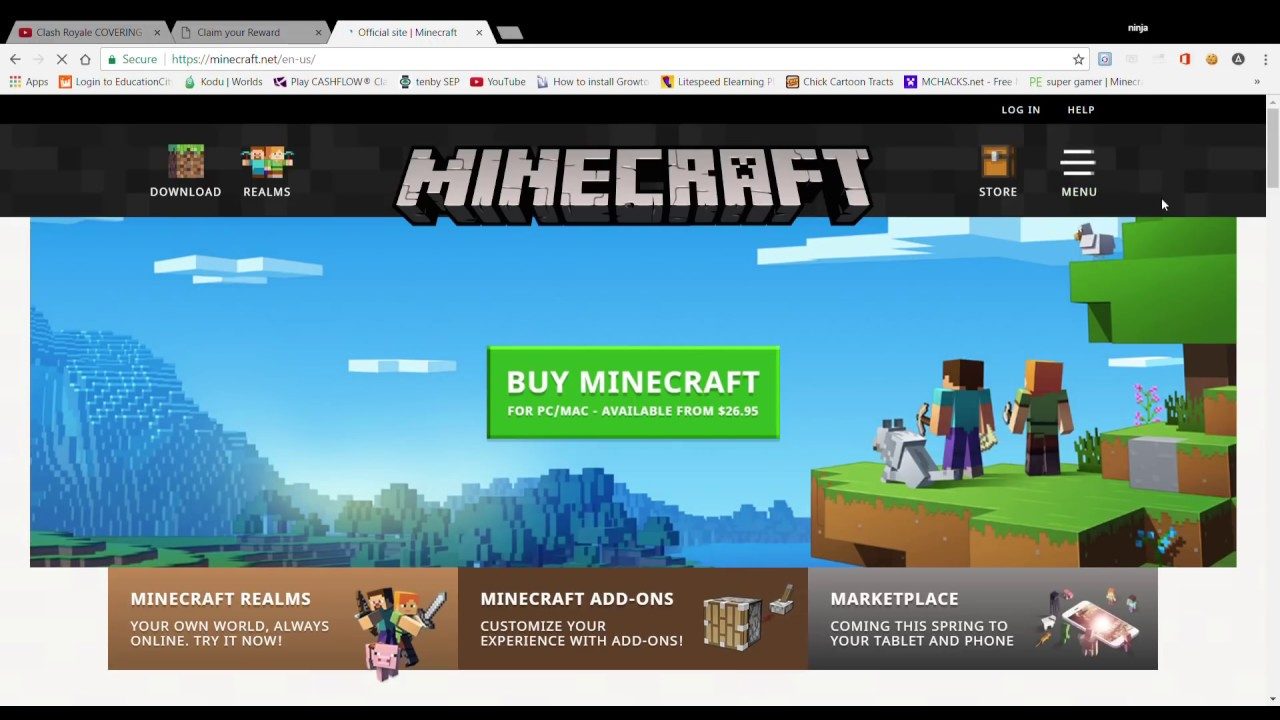 minecraft activation code einlösen
