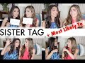 Sister TAG + Most Likely To MASH UP ft. Hannah! | Amelia Liana
