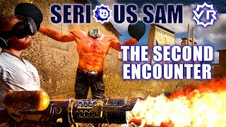 Serious Sam VR: The Second Encounter - VR FPS with locomotion and cross-platform multiplayer