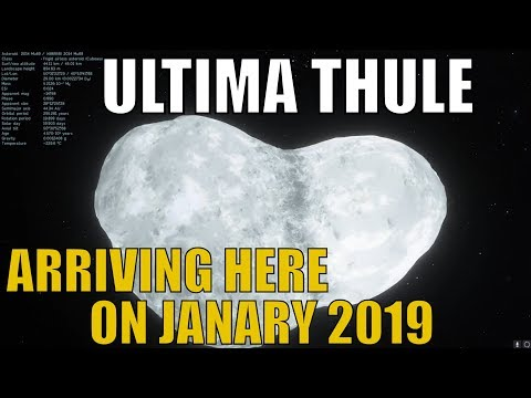 ULTIMA THULE - Newly Named Object Where New Horizons Will Reach in January 2019