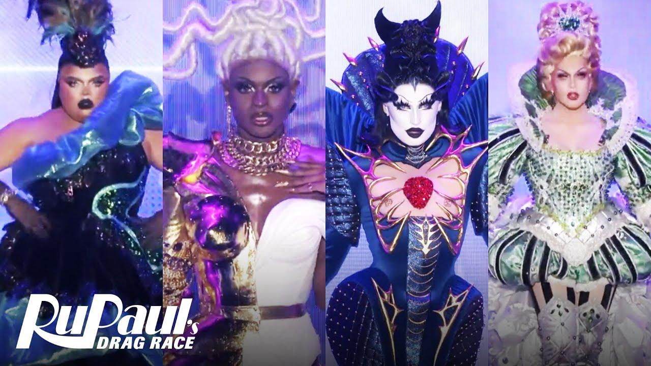 Gottmik, Kandy, Rosé & Symone Serve 12 Looks In The Grand Finale Ball | RuPaul's Drag Race Season 13 - YouTube