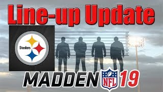 ALL TEAM BUILDERS AND TEAM MVPs ADDED! FULL STEELERS THEME TEAM LINEUP UPDATE! MADDEN 19