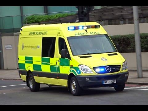 South East Coast Ambulance Driver Training Unit Responding