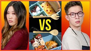 LUNCH BOX CHALLENGE!? | Cook That w/ Motoki Maxted & Amy Lee