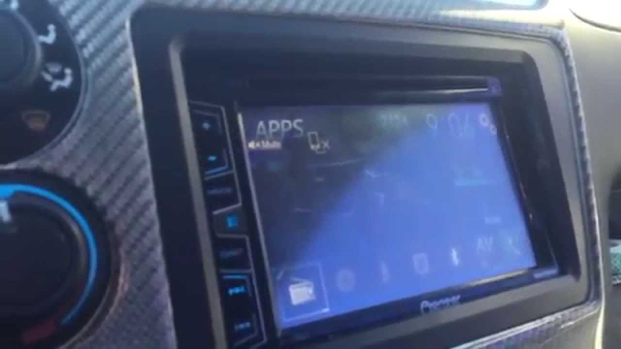 Pioneer AVH-x2700bs review 04 civic si - YouTube