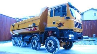 RC ADVENTURES - 1/14 8X8 ARMAGEDDON HYDRAULiC Dump Truck