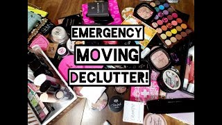 Emergency Makeup Collection Declutter 2019!!!
