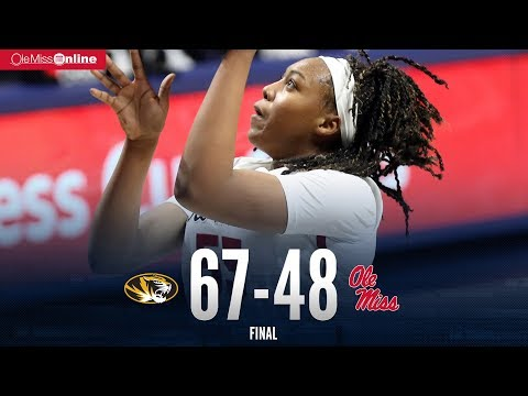 HIGHLIGHTS | Ole Miss vs Missouri 48 - 67 (01/18/18)