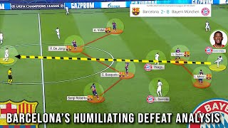 THIS is Why Bayern CRUSHED Barcelona