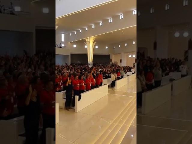 Slavljenje i molitva na susretu zajednica ODS u Kninu 2017.