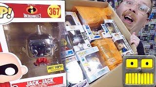 Mega Epic $1100 90 Funko Pop Vinyl Figure Haul Comic Con Exclusives And More Part 2