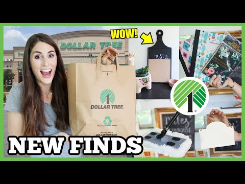 *AMAZING* NEW DOLLAR TREE FINDS | Cleaning And Crafting Haul