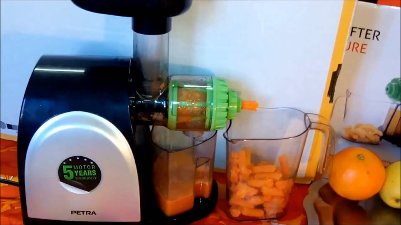 Petra extracteur de jus / Juicer 115 euros - YouTube