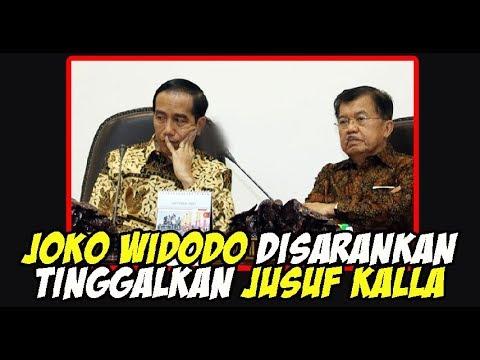 2019 Joko Widodo Disarankan Tinggalkan Jusuf Kalla