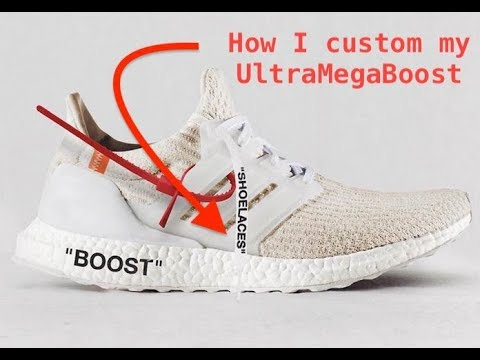 How To custom an UltraBoost OFF WHITE