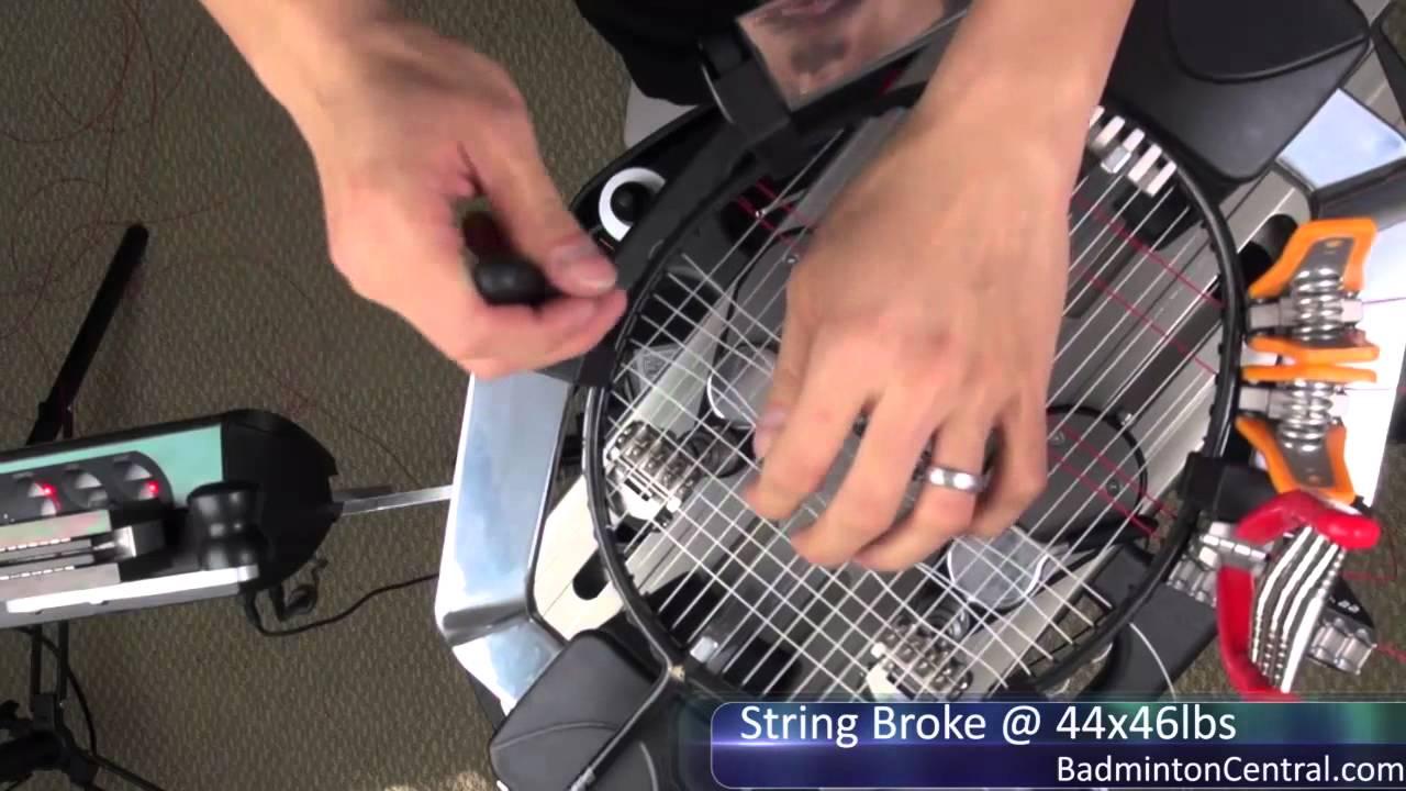 High Tension Badminton Stringing