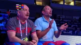 ЧМ-2015 по боксу. Петр Хамуков-Эдри Пинто. 1/8 финала. 75 кг.