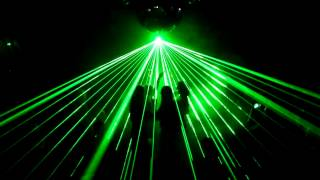 Laser show for: Adrenalize - Secrets of Time @ Hard Night - Zone Nightclub