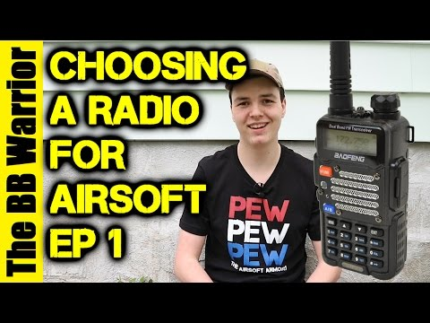 A Beginner's Guide to Radios in Airsoft | Ep. 1 The Baofeng UV-5R