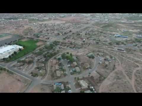 Tuba City High School,  TC hill drone video
