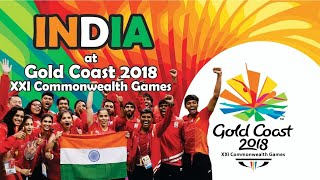 INDIA AT GOLD COAST COMMONWEALTH GAMES 2018