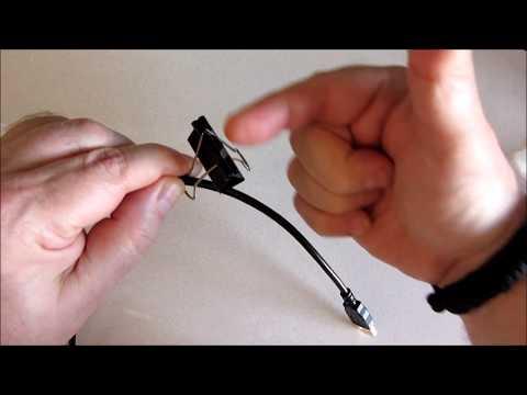 DIY Desktop Cable Management