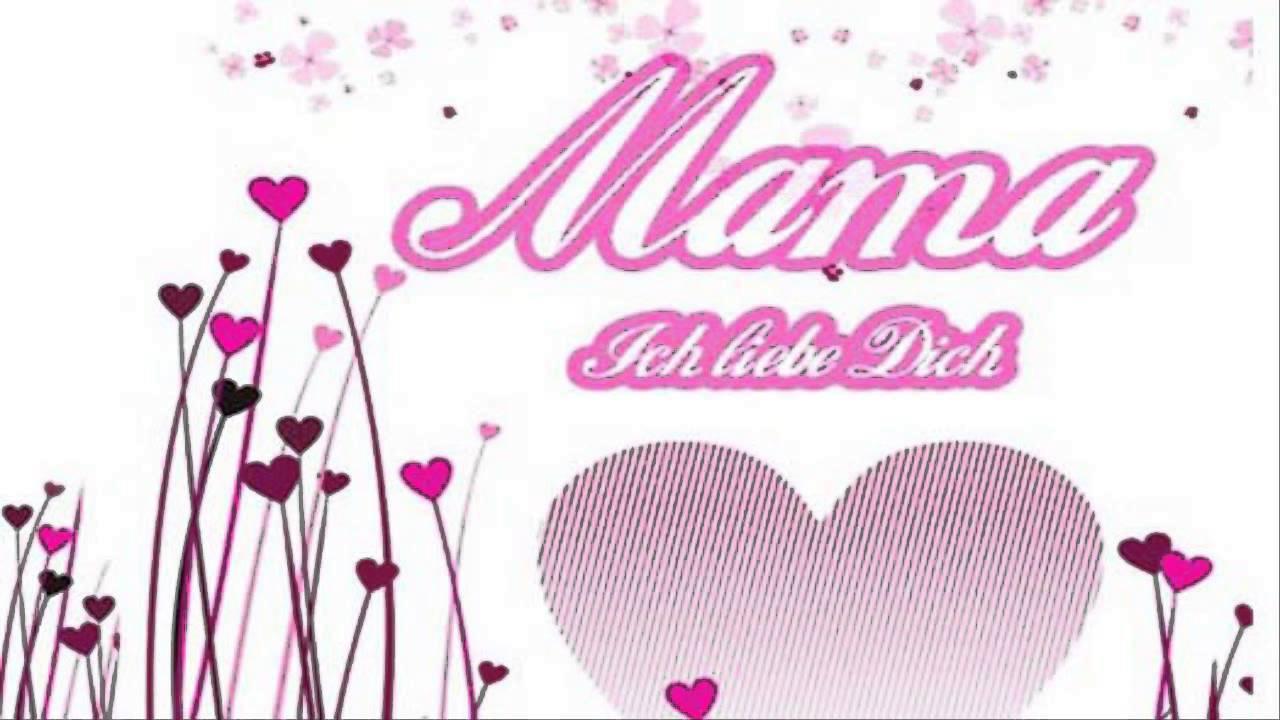 Mama alles gute zum geburtstag ich liebe dich