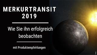 So Beobachten Sie Den Merkurtransit Am 11.11.2019