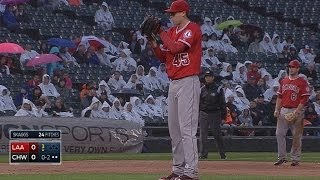LAA@CWS: Skaggs fans six in return from disabled list
