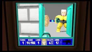 Wolfenstein 3D Episode 5 Floor 9 Boss Caroline Becker