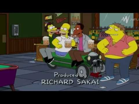 The Simpsons - Chubby dude in a tiny car [Song]