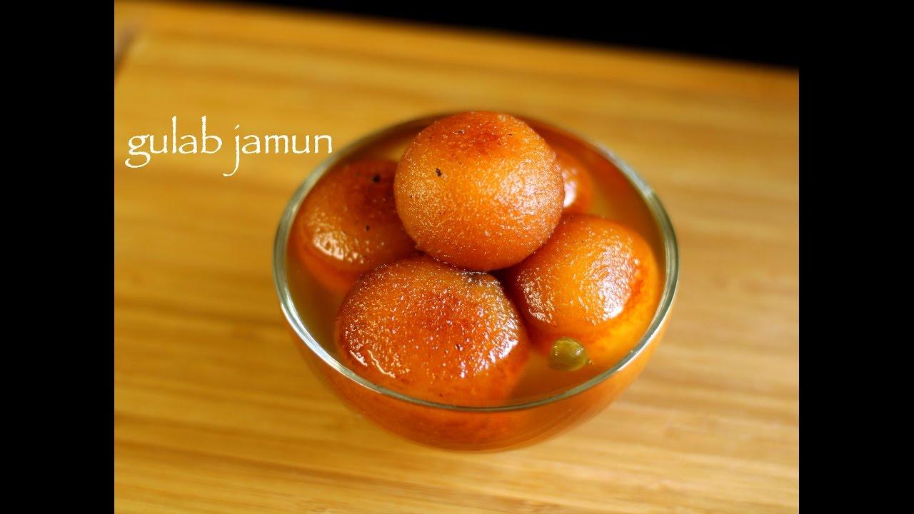 gulab jamun recipe | gulab jamun with milk powder recipe