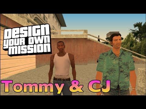 GTA San Vice - DYOM - Tommy & CJ
