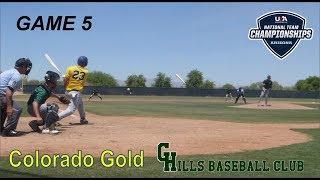 GHills Baseball Club vs Colorado Gold 17U