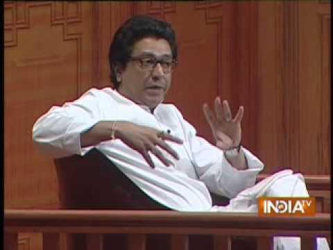 Raj Thackeray in Aap Ki Adalat  (Part 2) - India TV