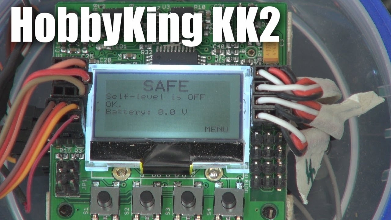 small resolution of kk2 multirotor controller board from hobbyking youtube kk2 board wiring tricopter