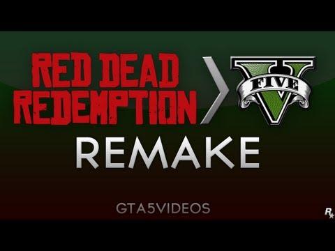 GTA  V Trailer remake - Red Dead Redemption